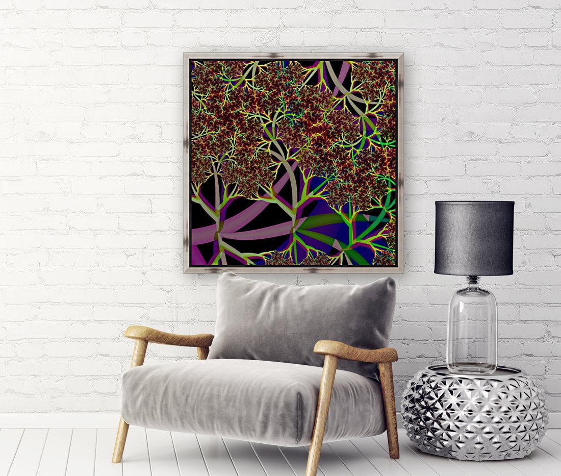 Fractal_Vegetation_Theme  Art