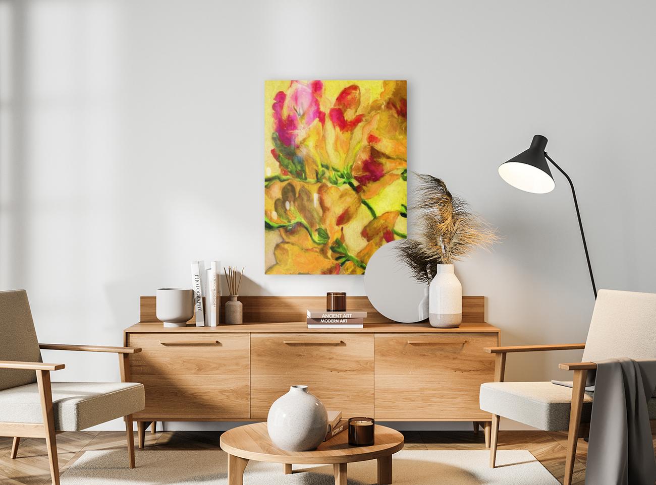 Yellow Flowers  Art