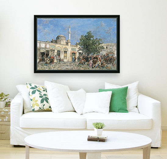 The market of Constantinople  Art