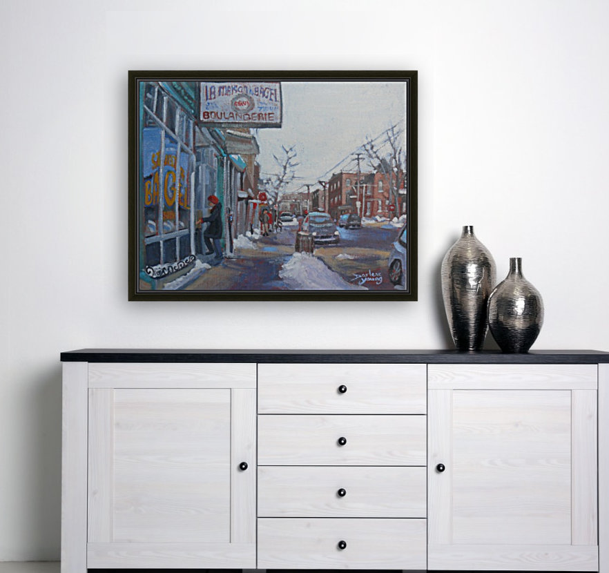St Viateur with Floating Frame