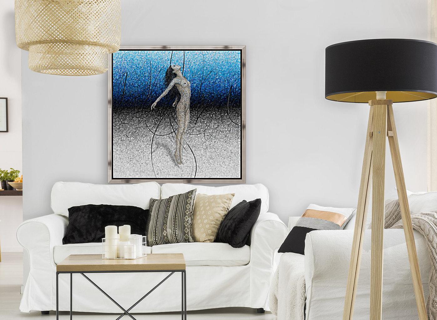 Ascension - Blue  Art