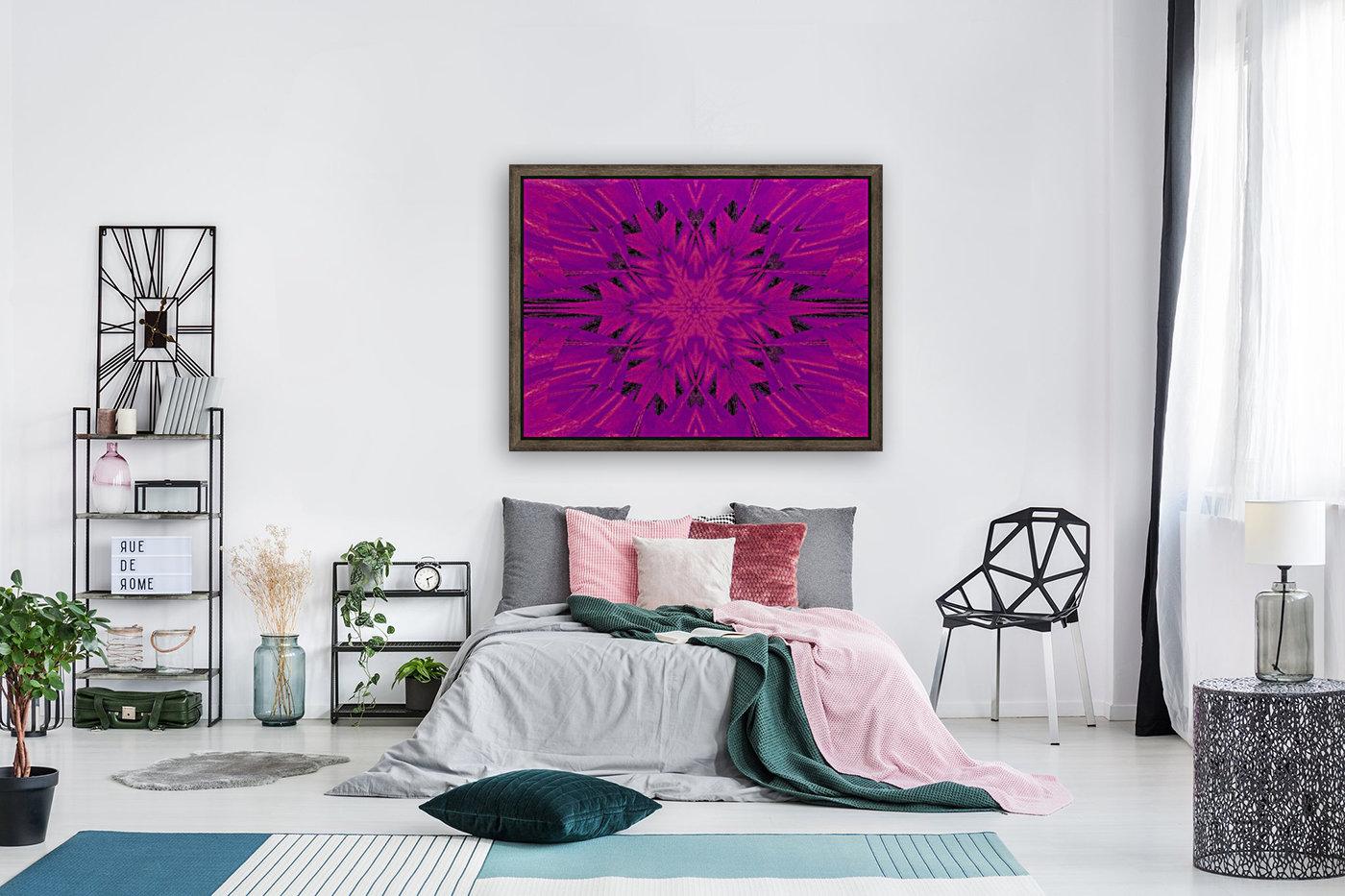 Purple Desert Song 45  Art