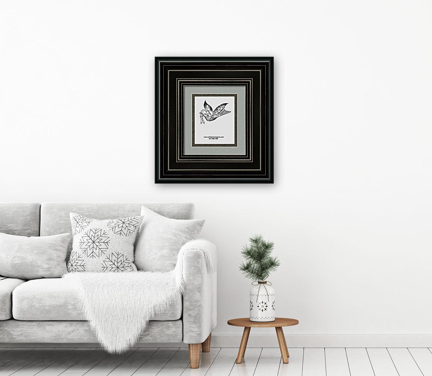 art dove frame  Art