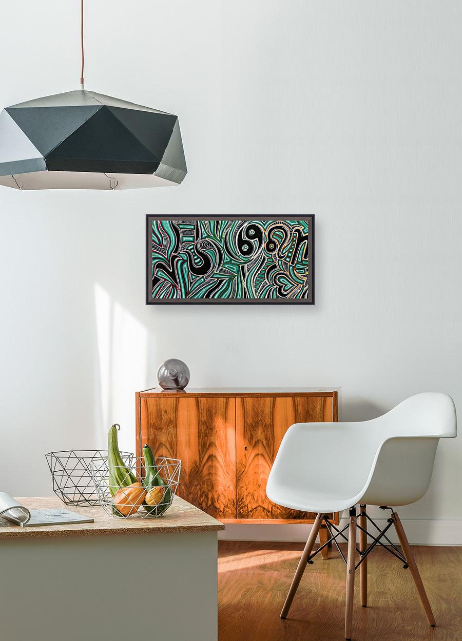 Synergy Triptych Left panel  Art