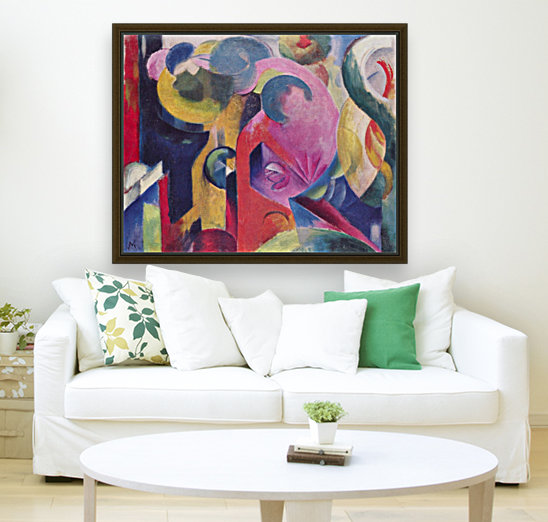 Composition III by Franz Marc  Art