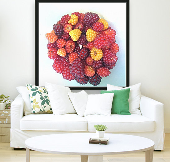 Wild Berries with Floating Frame