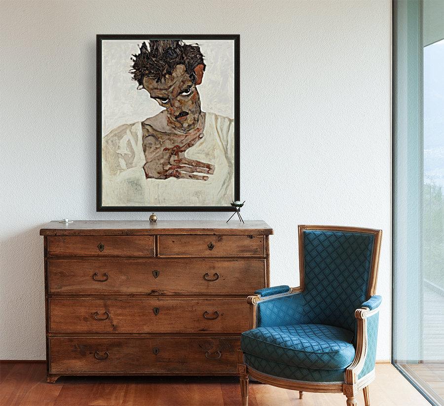 Egon Schiele - Self-Portrait  Art