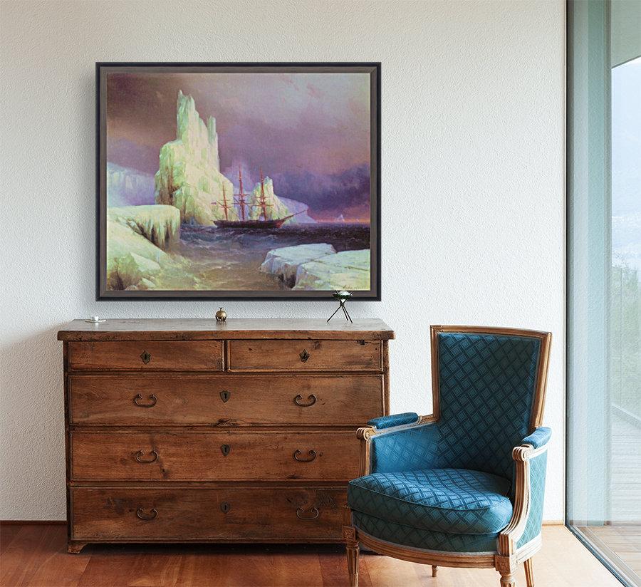 Icebergs in Antarctica  Art