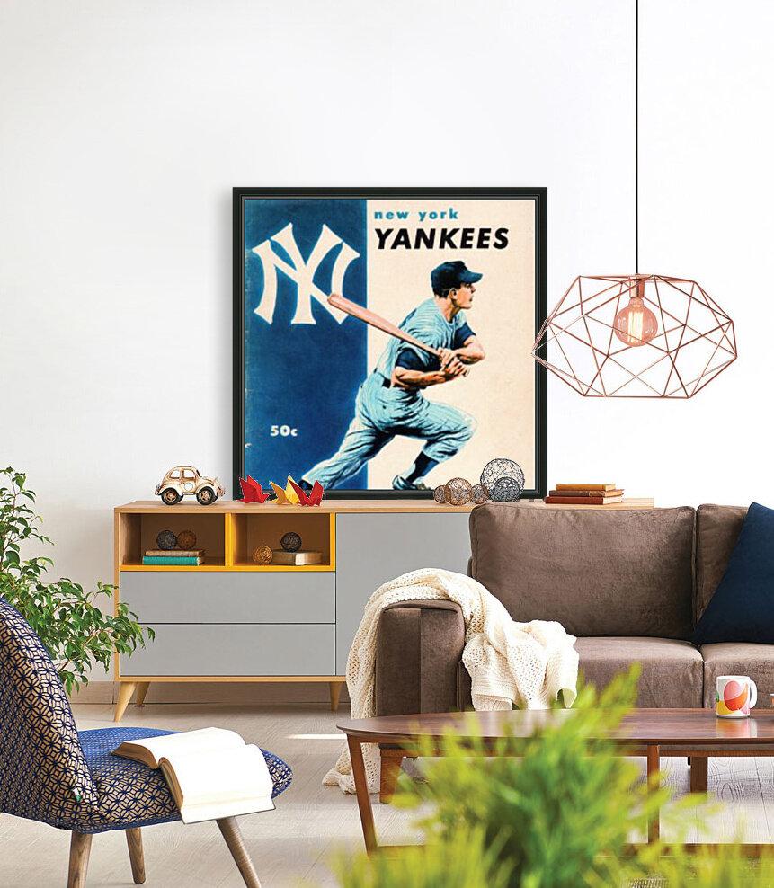 1956 New York Yankees Yearbook Wall Art  Art