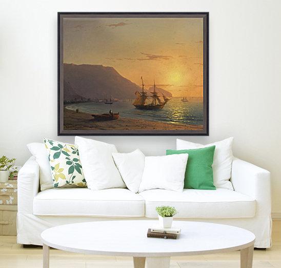 Sunset in Crimea  Art