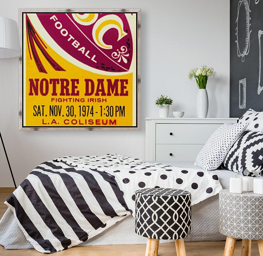 1974 USC vs. Notre Dame  Art
