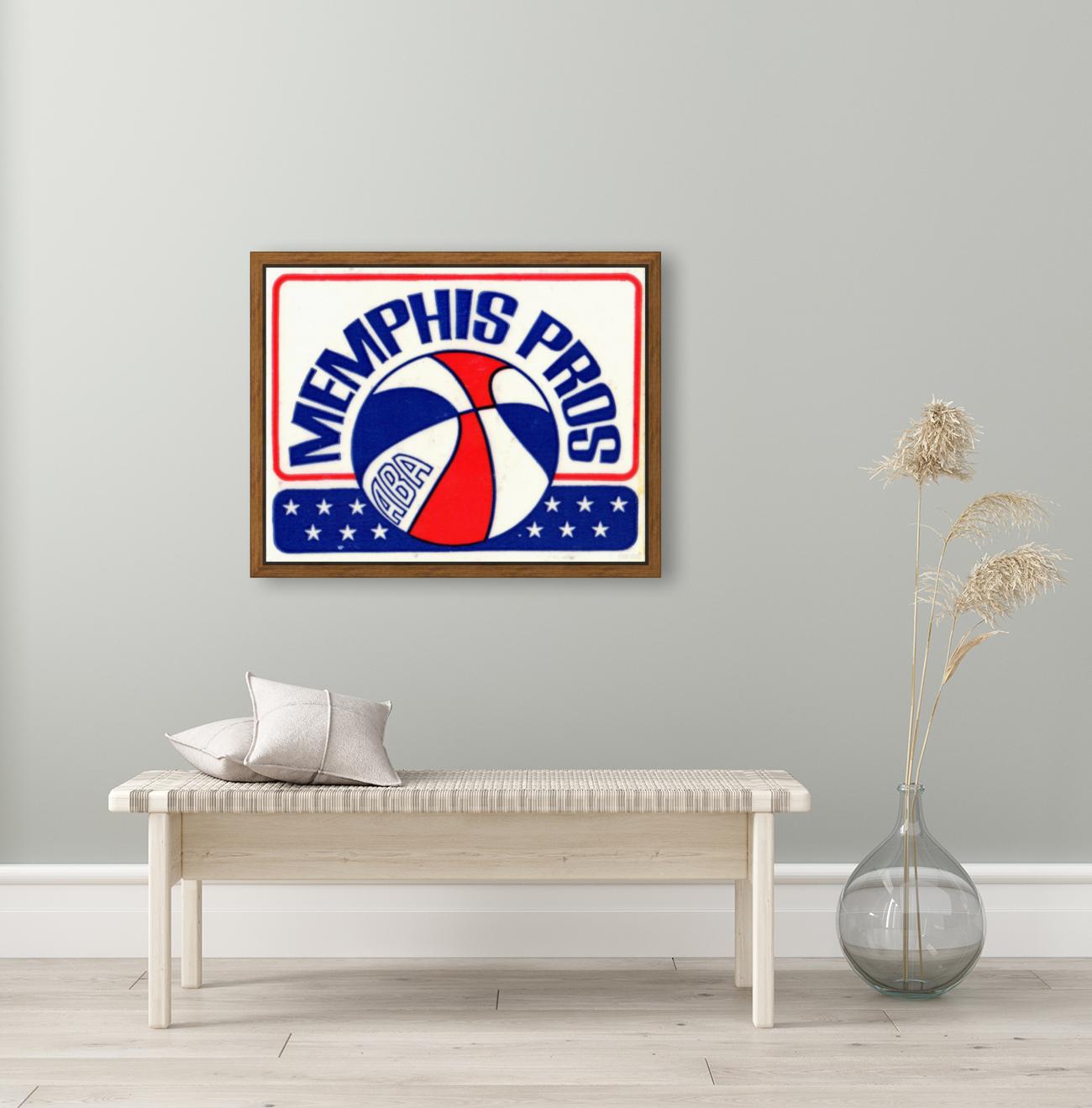 1971_American Basketball Association_Memphis Pros_Row One Brand  Art