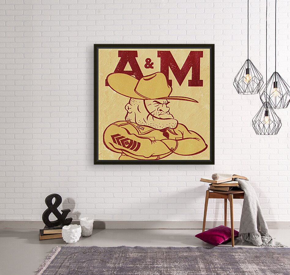 Vintage Ol Sarge 1951 Texas A&M  Art