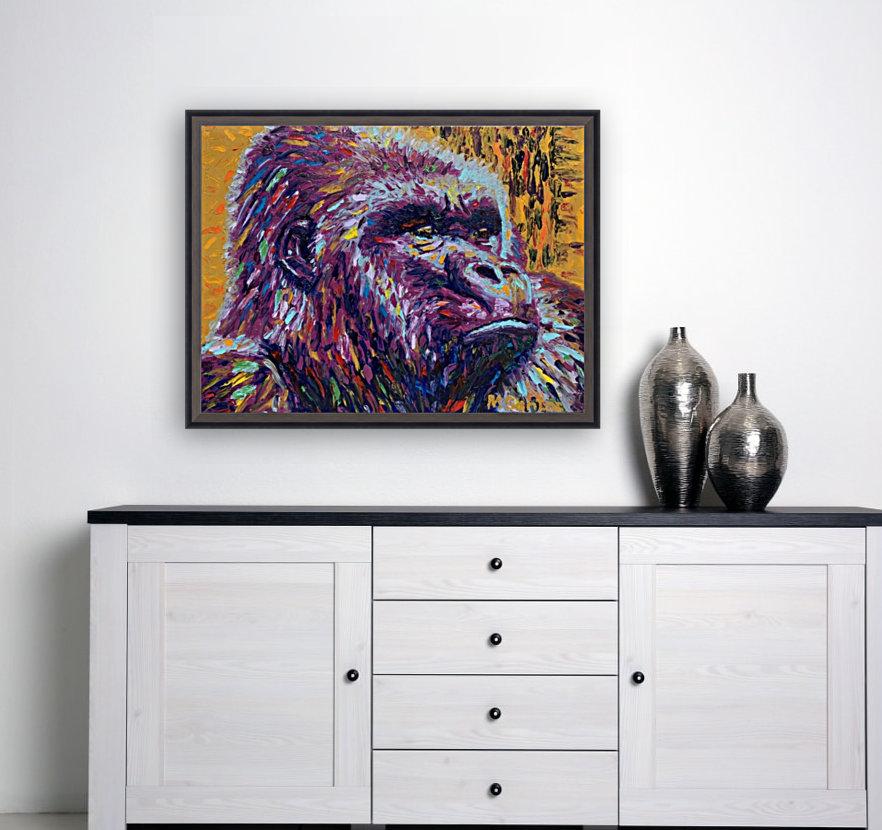 Gorilla Closeup  Art
