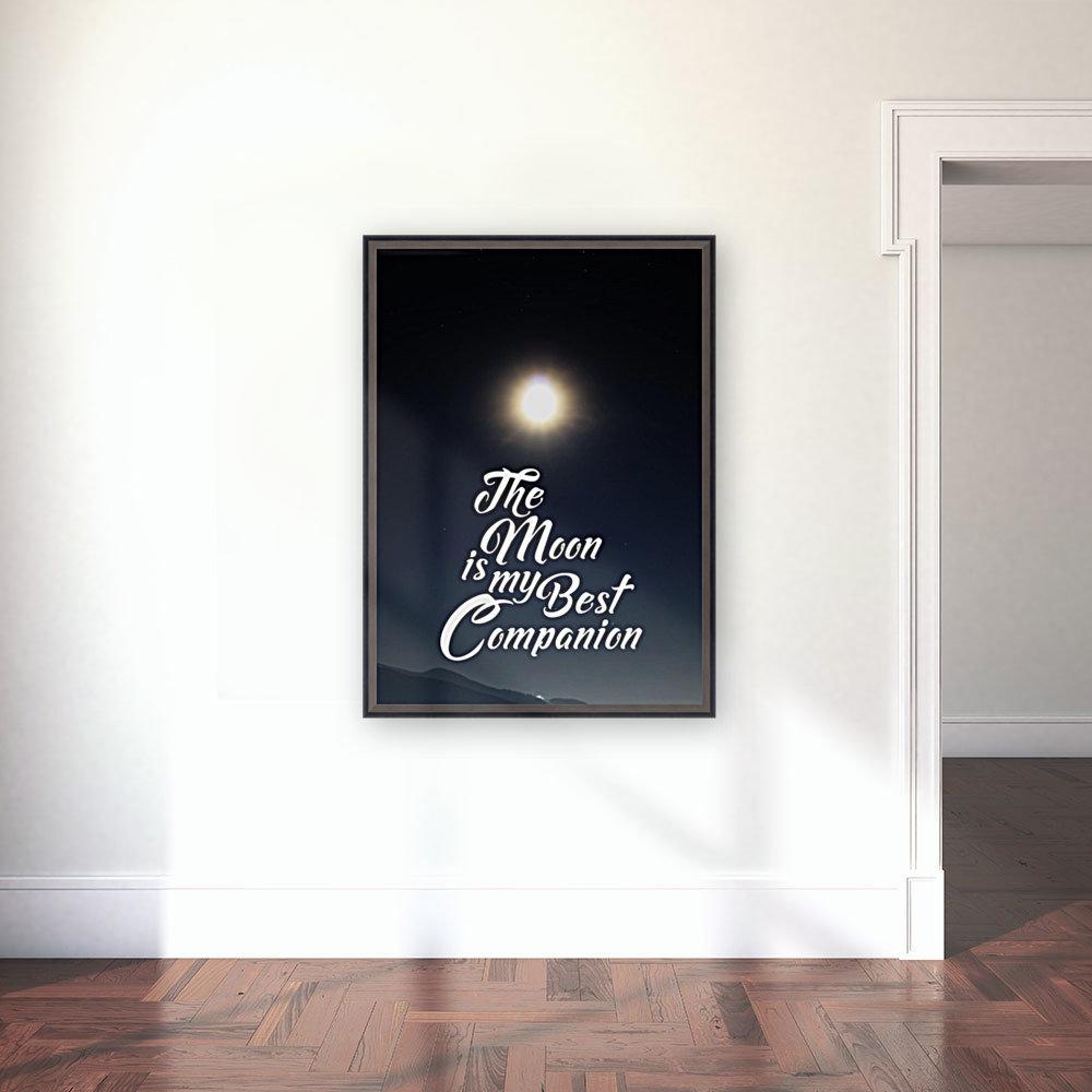 The Moon is Best Companion  Art