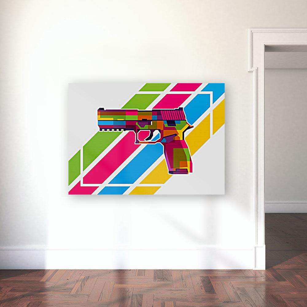 SIG P250 Handgun  Art
