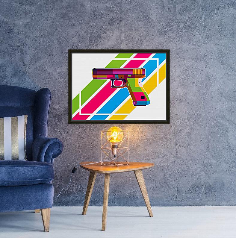 Glock Handgun  Art