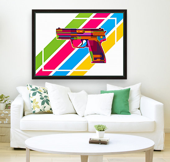 Heckler and Koch USP Handgun  Art
