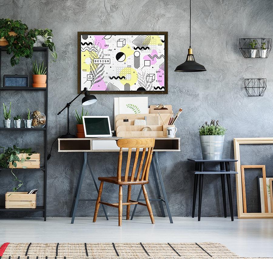 graphic design geometric background  Art