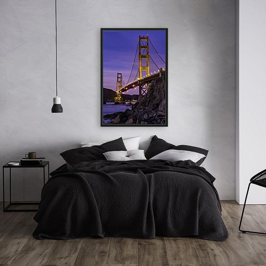 Golden Gate Blue Hour  Art