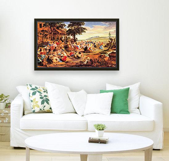 Flemish Kirmes by Rubens  Art