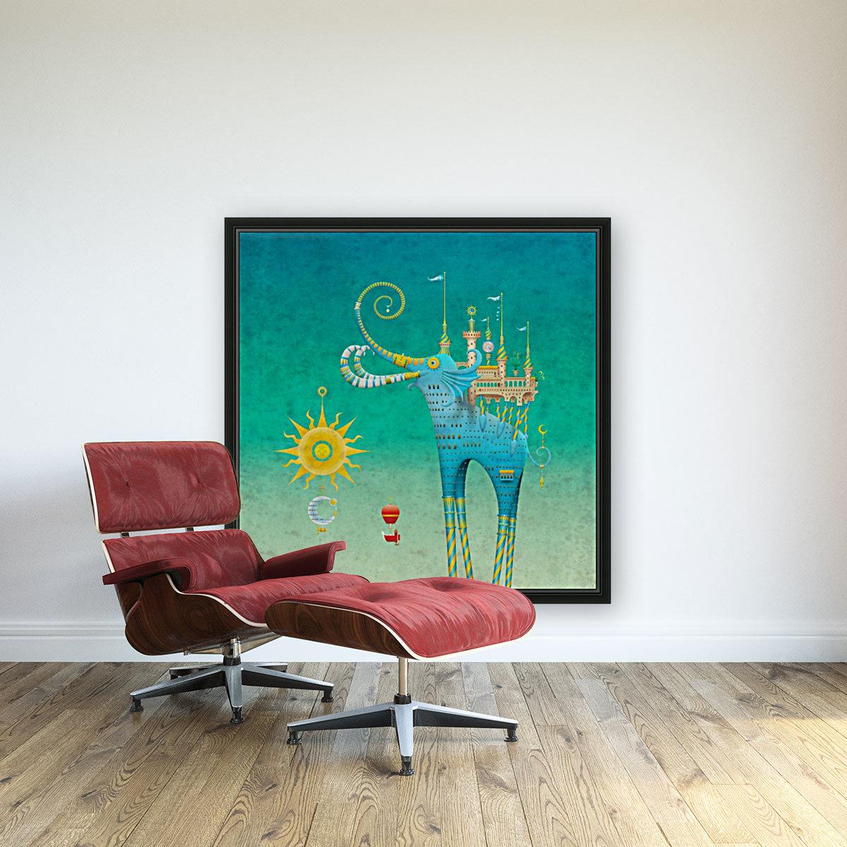 Castellini Elephantini Azure  Art