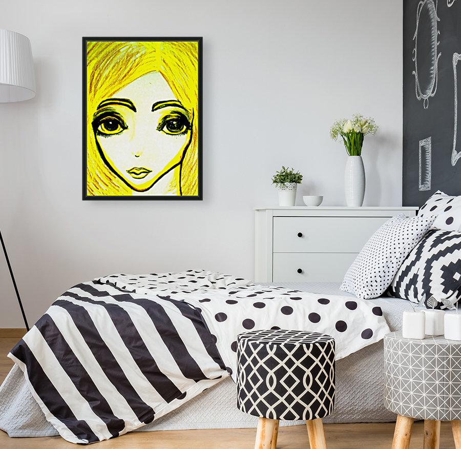 yellowgirl1  Art
