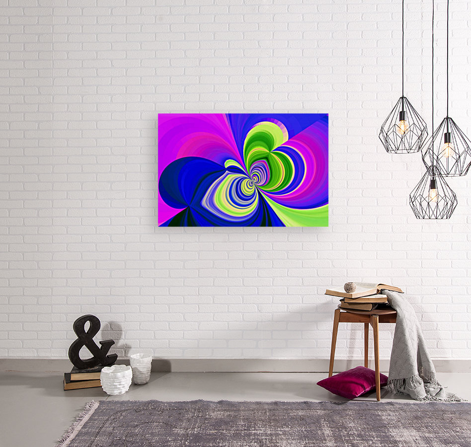 PSYCHEDELIC BUTTERFLY 2  Art