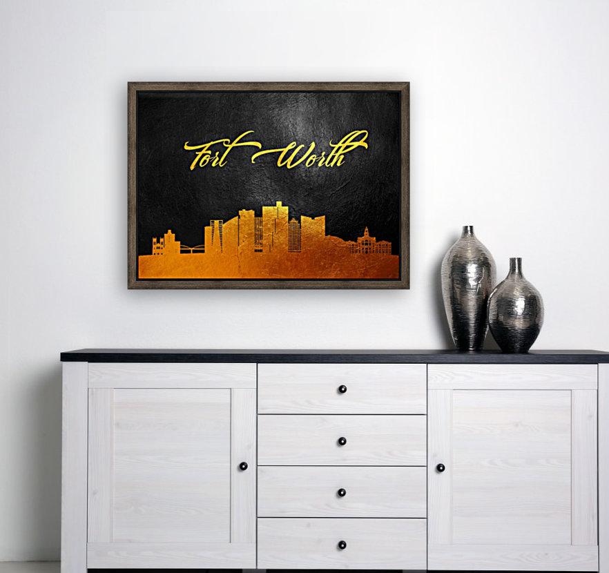 Fort Worth Texas Skyline Wall Art  Art