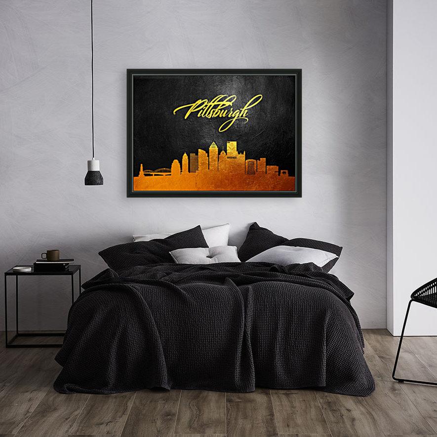 Pittsburgh Pennsylvania Skyline Wall Art  Art