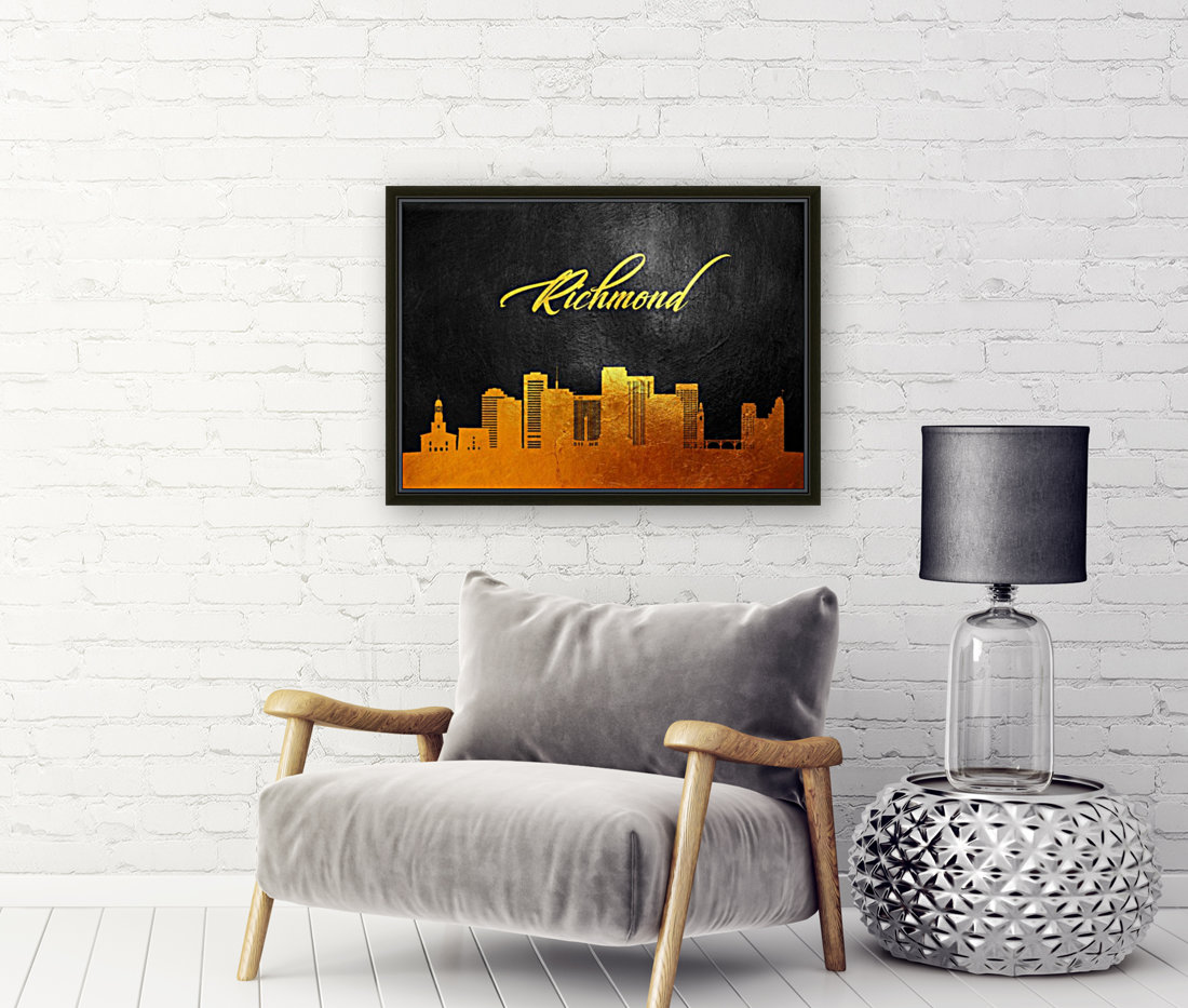 Richmond Virginia Skyline Wall Art  Art