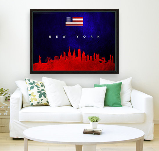 New York New York Skyline Wall Art  Art