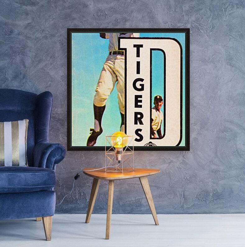 retro remix detroit tigers poster  Art