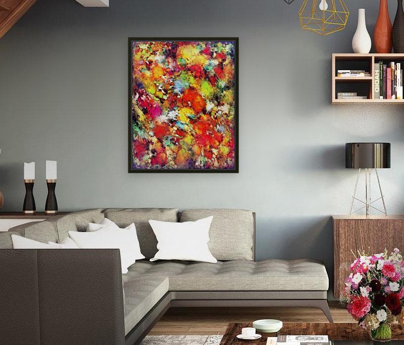 Big colour storm  Art