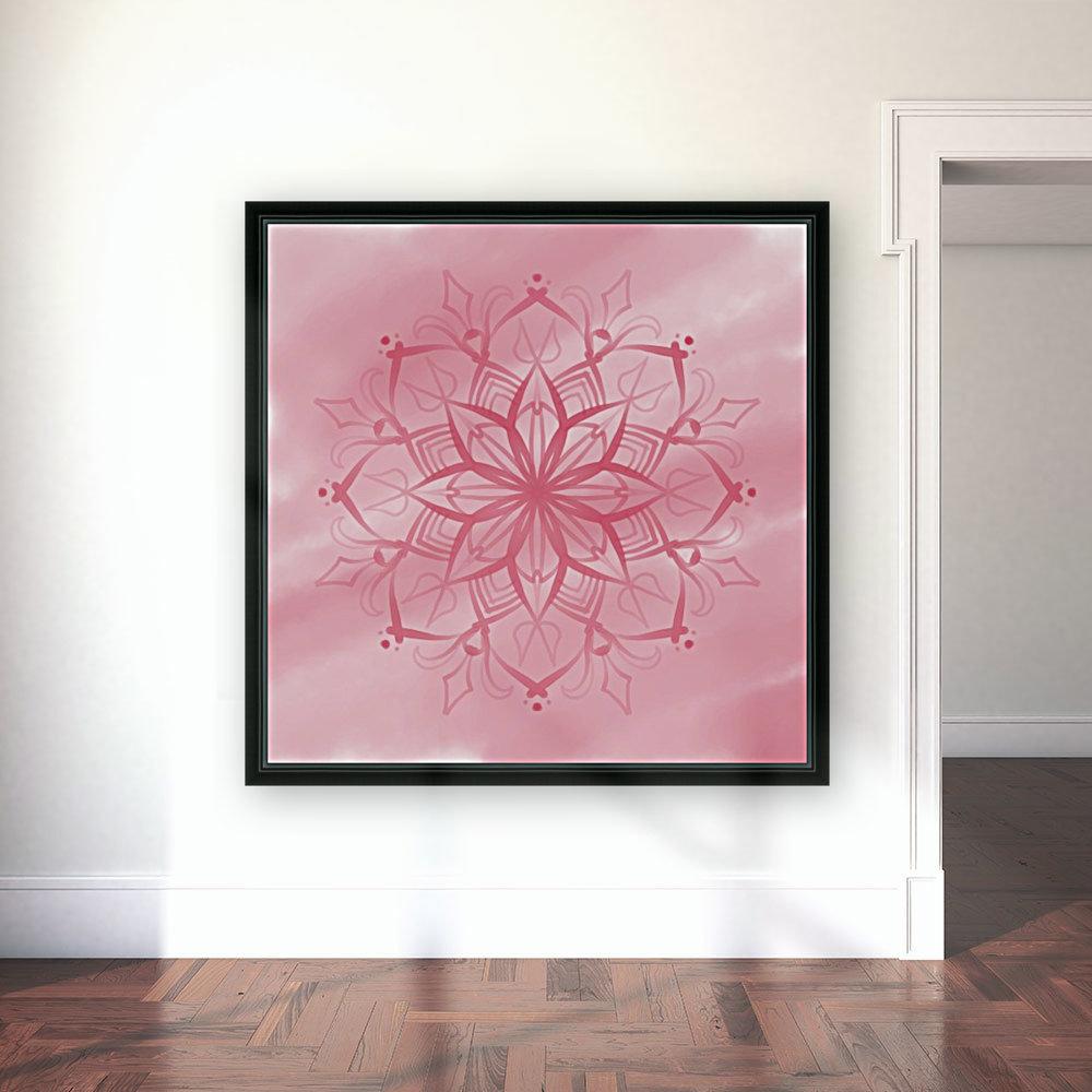 pink mandala  Art