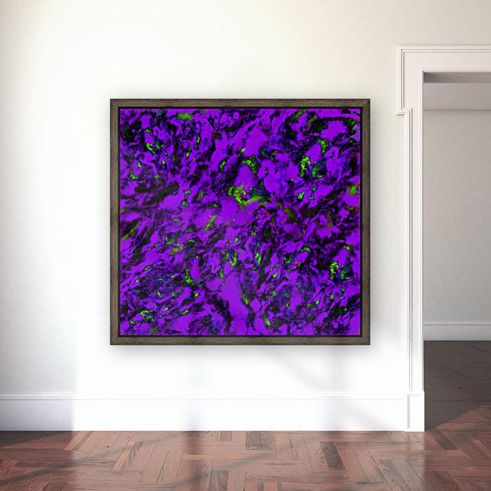 Fluttering purple  Art