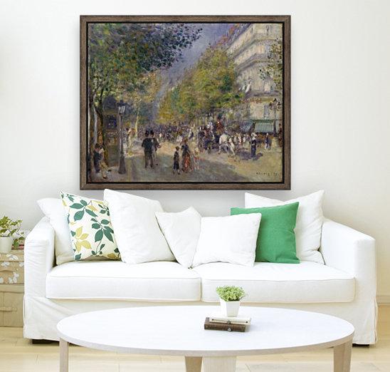 Grande Boulevards by Renoir  Art