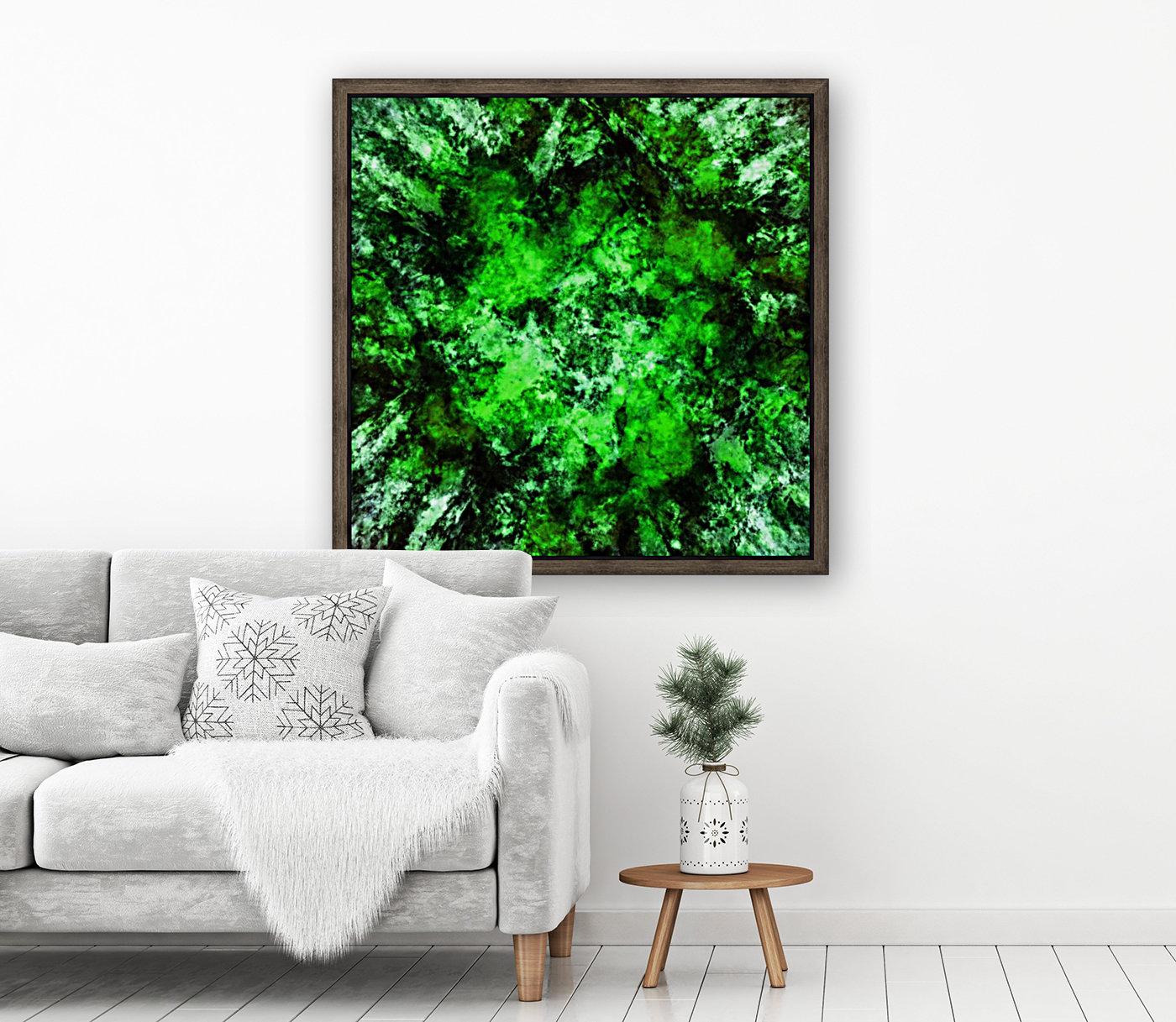 Green burst  Art