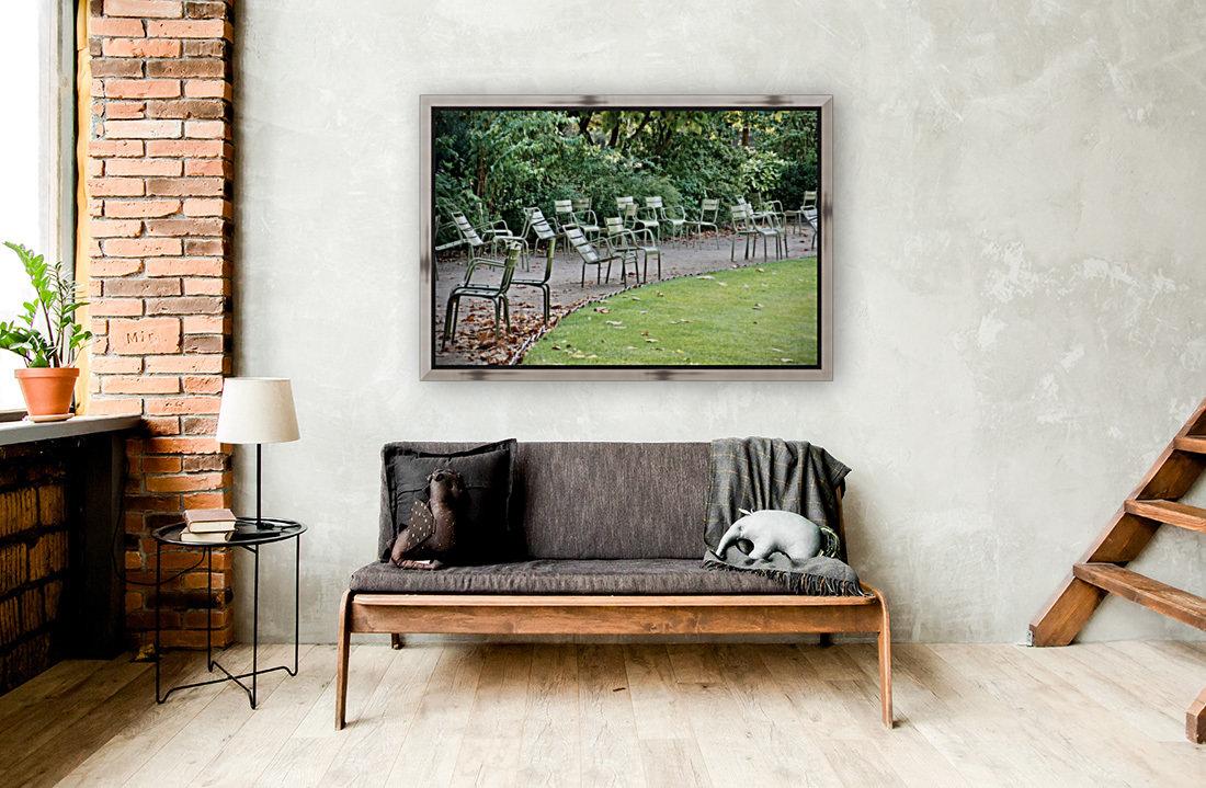 Chaises du Luxembourg   6  Art
