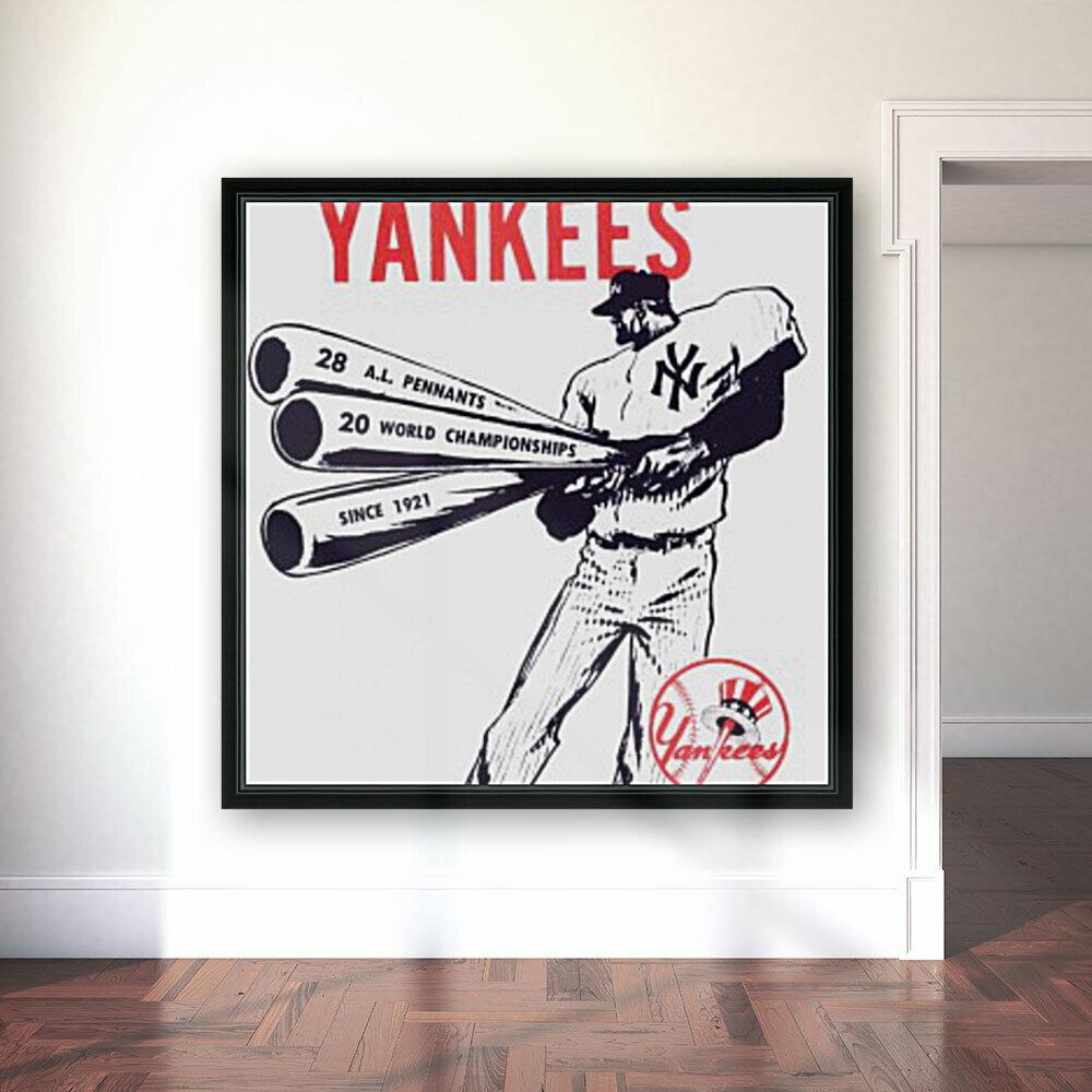 Artist Willard Mullin New York Yankees Art Poster  Art