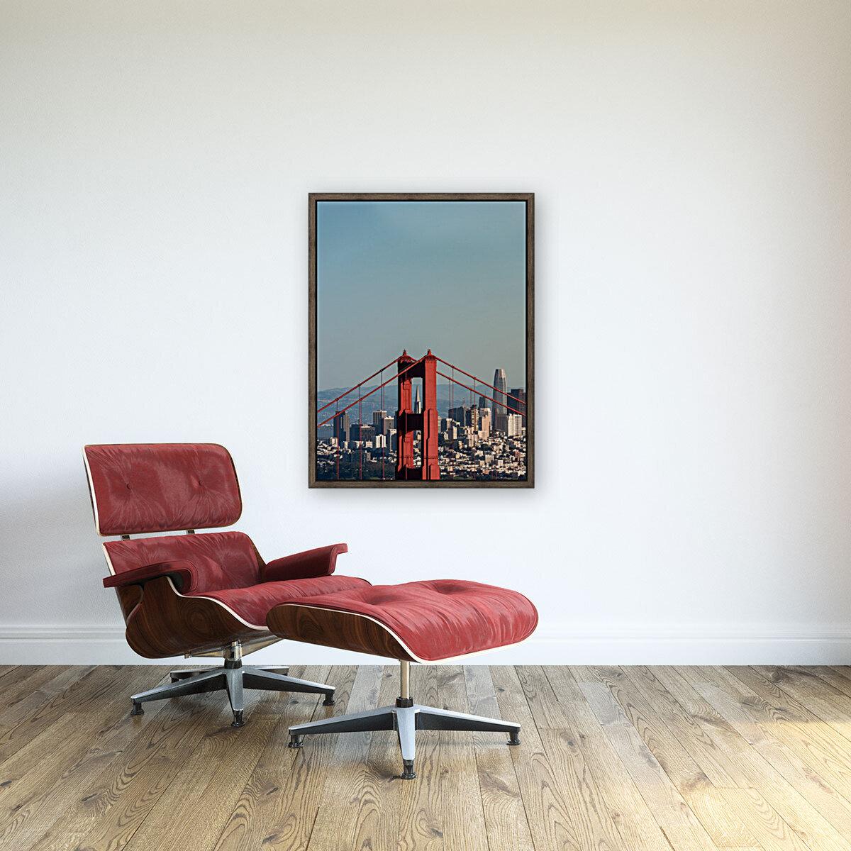 Threading the Needle - Golden Gate Bridge  Art