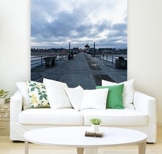 Huntington Beach Pier Panorama  Art