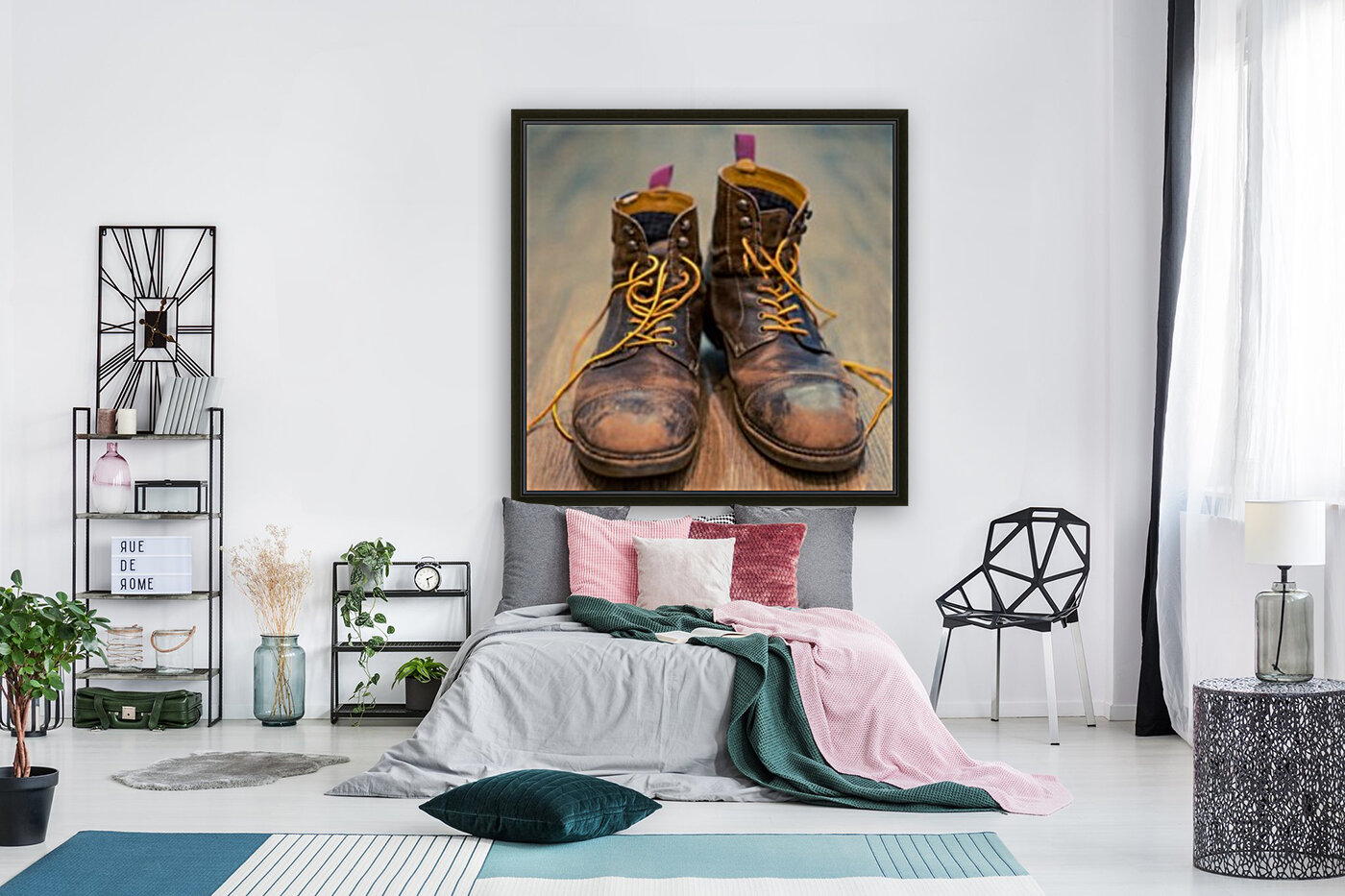 Worn Out Boots  Art