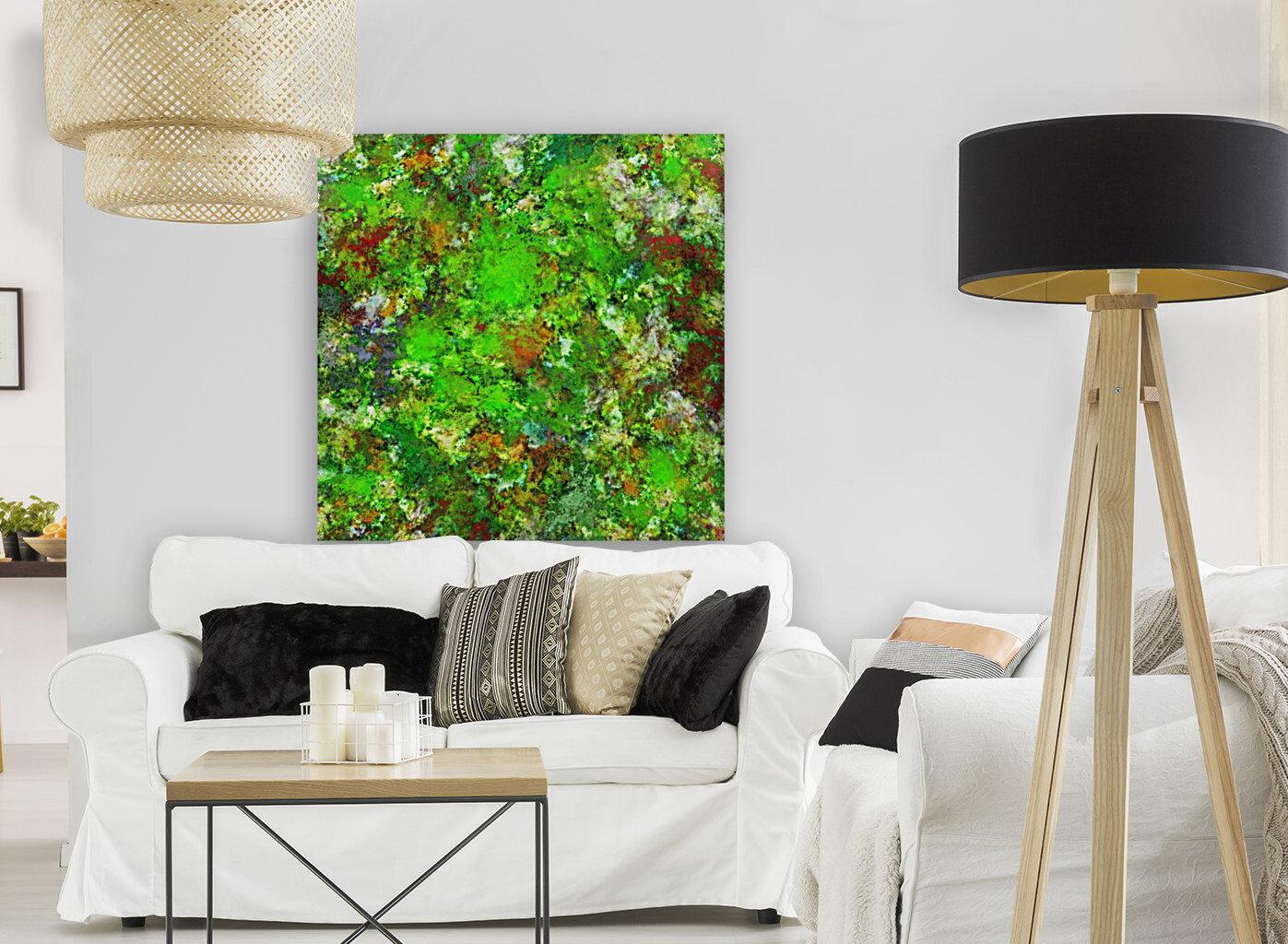 Slippery green rocks  Art