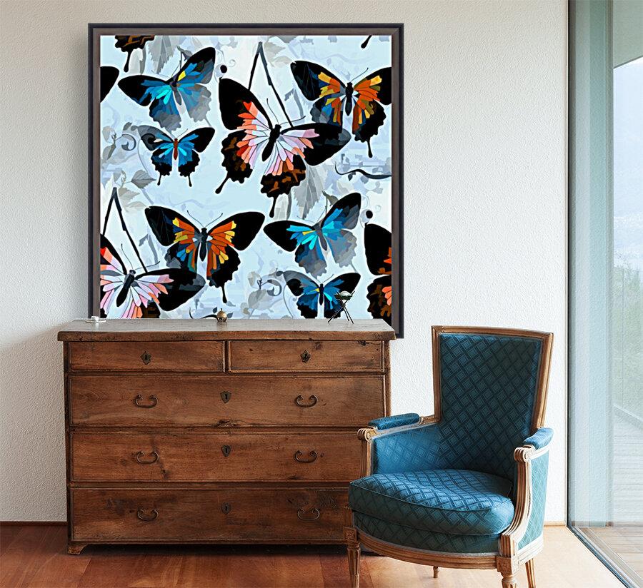 Seamless Butterflies Pattern   Art