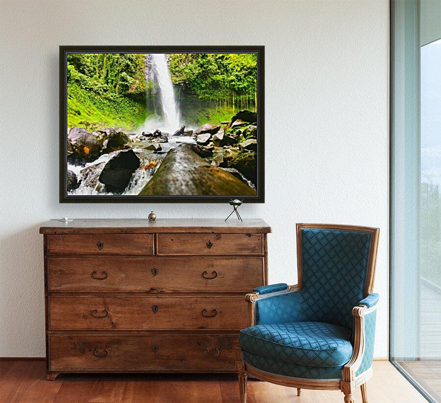La Fortuna Waterfall   Art