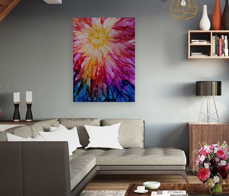 Rainbow Bloom  Art