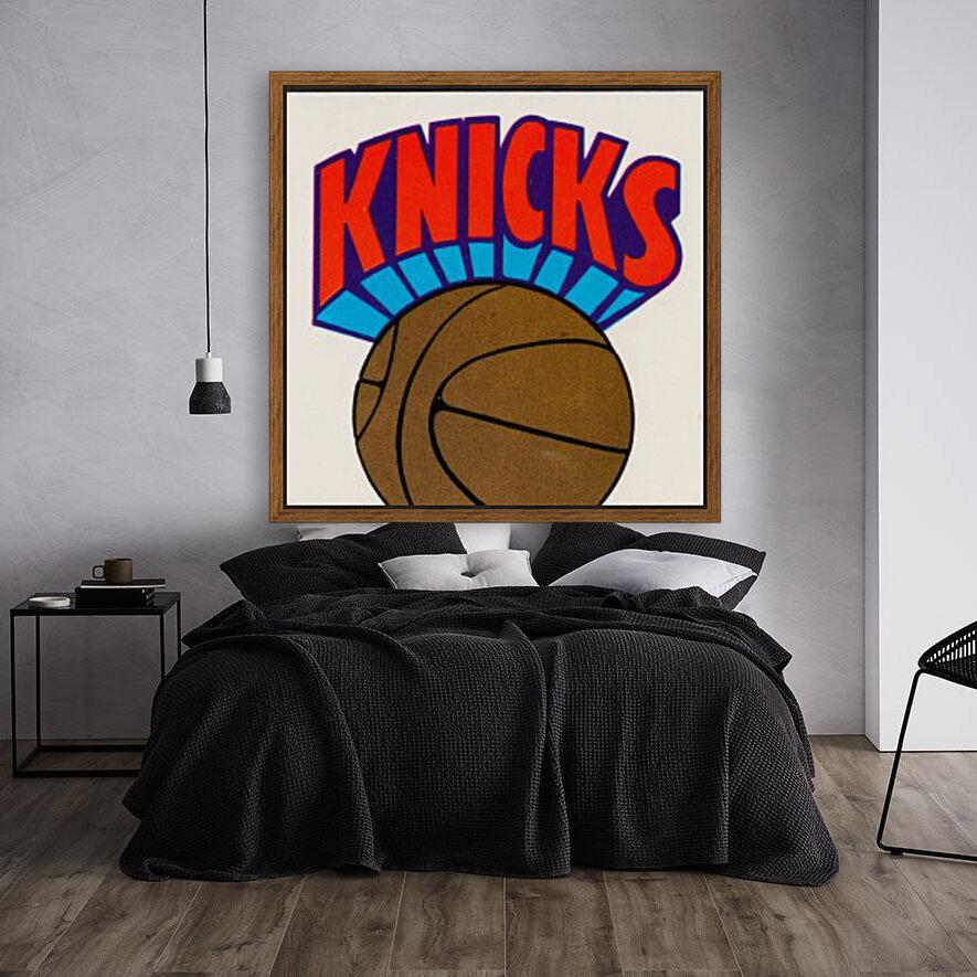 1980 New York Knicks Fleer Decal Art  Art
