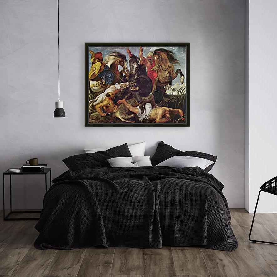 Hunting by Rubens  Art