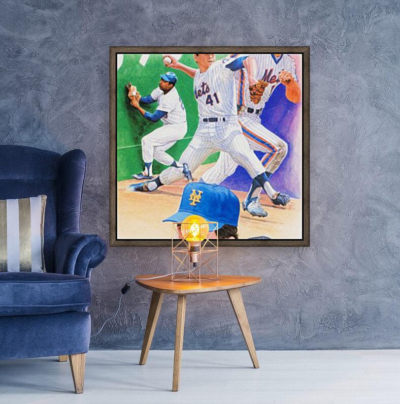 1986 New York Mets Art  Art